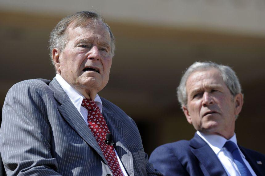 US-BOOK-HISTORY-POLITICS-BUSH